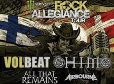 Rock Allegiance Tour: Volbeat, HIM & All That Remains at the Hollywood Palladium