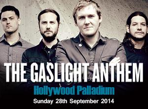 The Gaslight Anthem at Hollywood Palladium