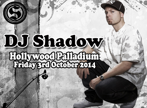 DJ Shadow 'The Renegades of Rhythm' tour at Hollywood Palladium
