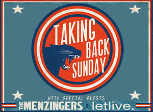 Taking Back Sunday, Letlive & The Menzingers at Hollywood Palladium