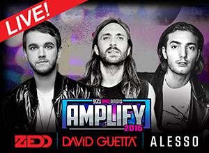 Amplify 2015: Alesso, David Guetta, Zedd, AronChupa & DJ Baby Yu at Hollywood Palladium