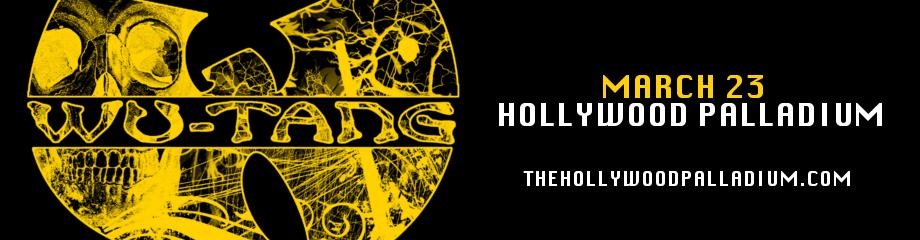 Wu Tang Clan at Hollywood Palladium