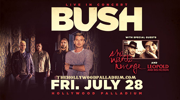 Bush at Hollywood Palladium
