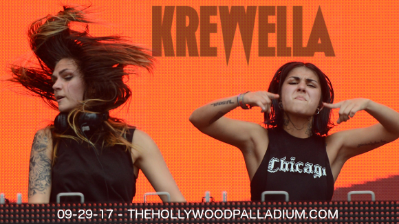 Krewella at Hollywood Palladium