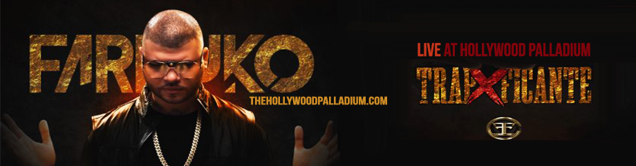 Farruko at Hollywood Palladium