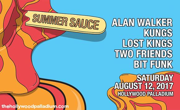 Summer Sauce: Alan Walker, Kungs, Lost Kings, Two Friends & Bit Funk at Hollywood Palladium