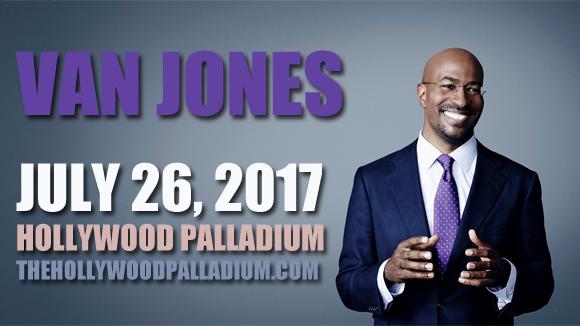 Van Jones at Hollywood Palladium