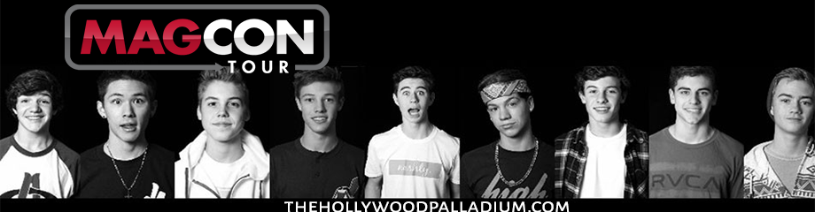 Magcon at Hollywood Palladium
