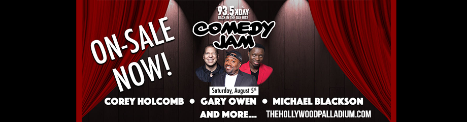 KDAY's Comedy Jam at Hollywood Palladium