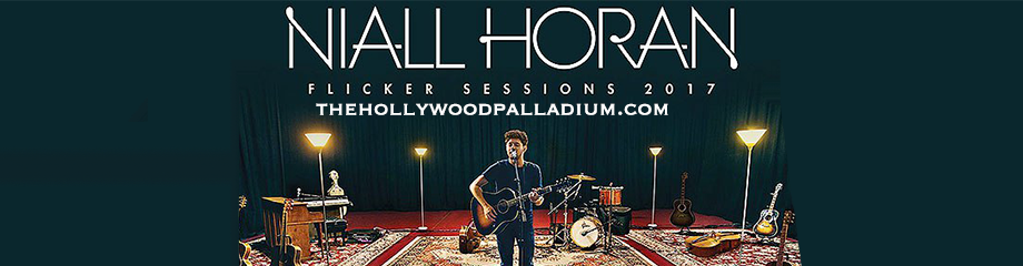 Niall Horan at Hollywood Palladium