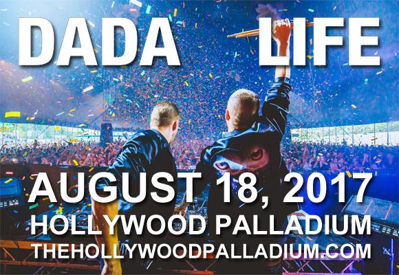 Dada Life at Hollywood Palladium