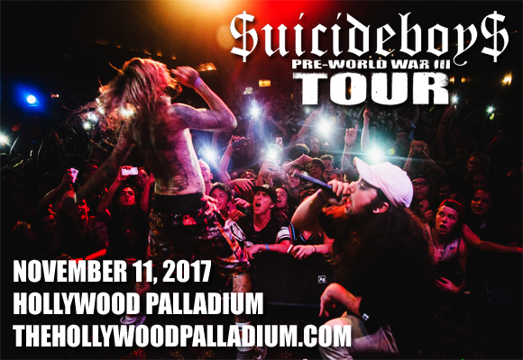 Suicideboys  at Hollywood Palladium