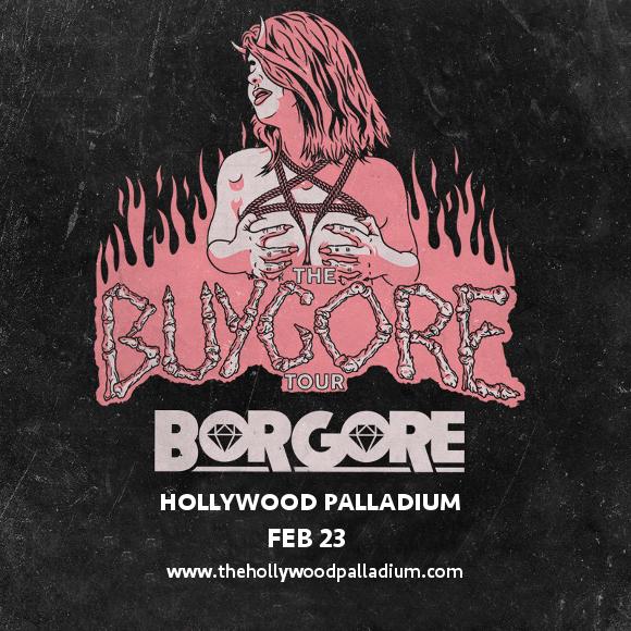 Borgore at Hollywood Palladium