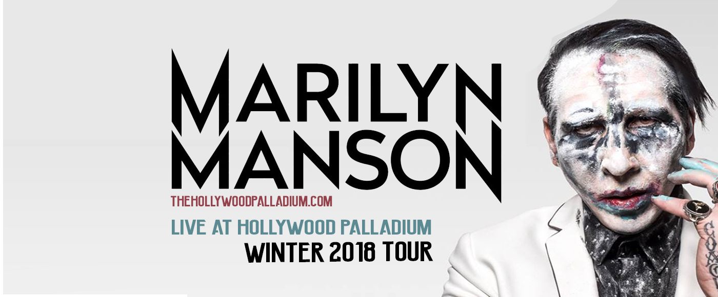 Marilyn Manson at Hollywood Palladium