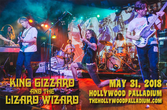 King Gizzard and The Lizard Wizard at Hollywood Palladium
