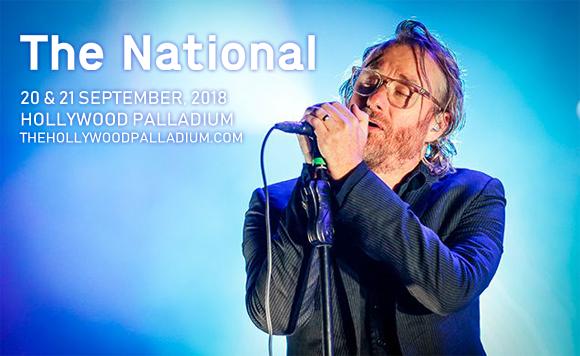The National at Hollywood Palladium