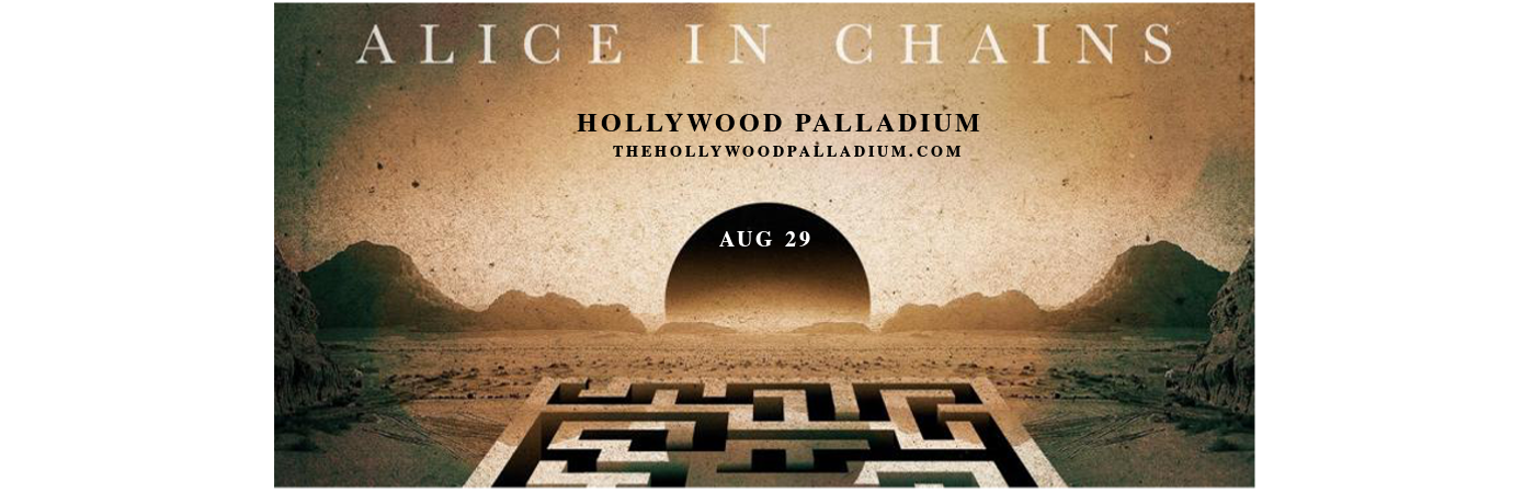 Alice In Chains at Hollywood Palladium