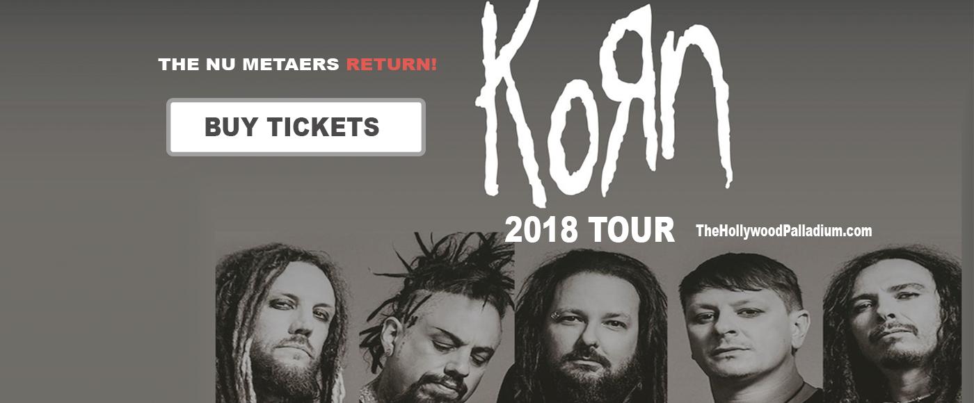 Korn at Hollywood Palladium