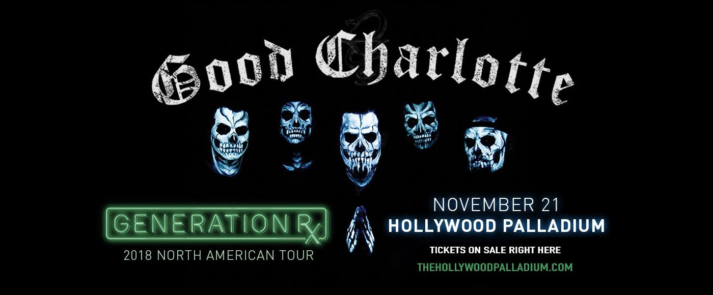Good Charlotte at Hollywood Palladium