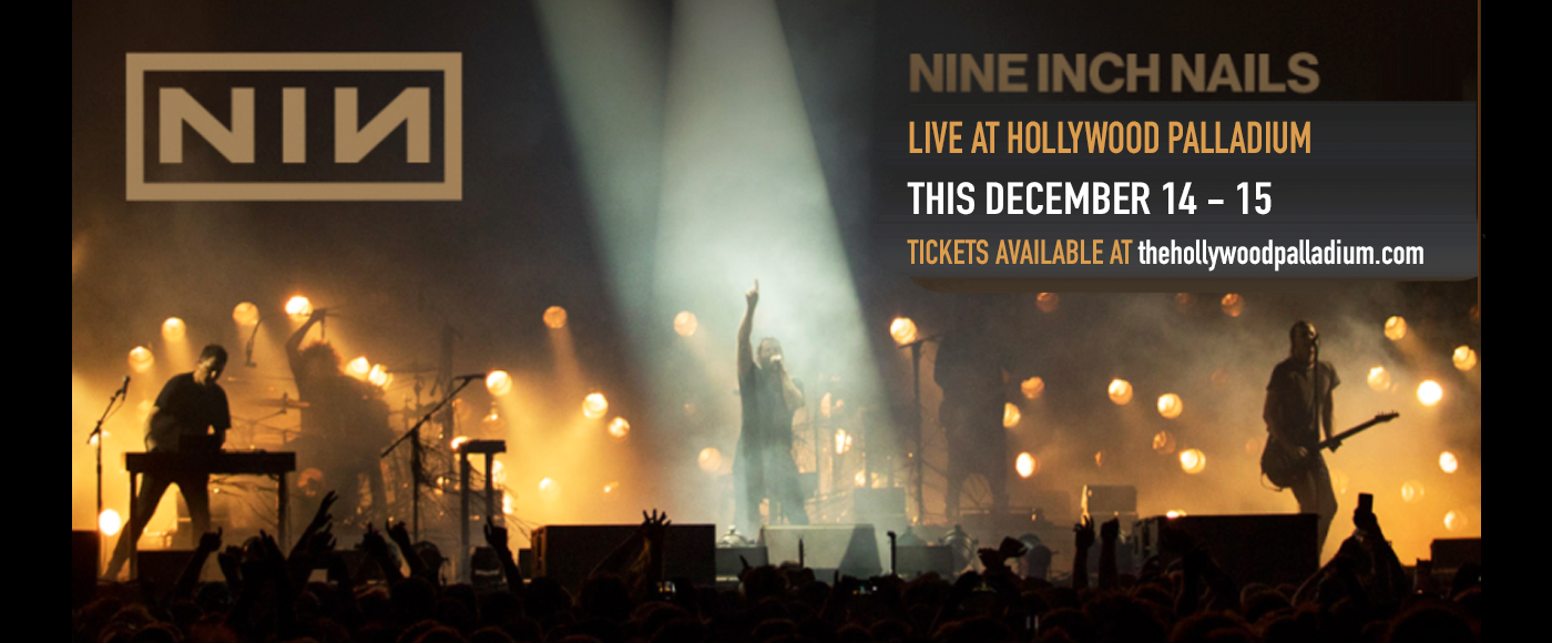 Nine Inch Nails & The Jesus and Mary Chain at Hollywood Palladium