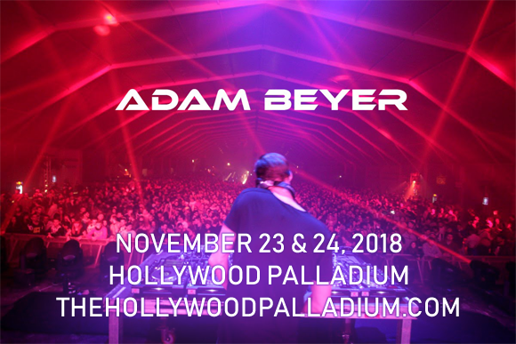 Adam Beyer & Cirez D at Hollywood Palladium