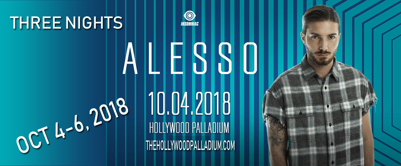 Alesso at Hollywood Palladium