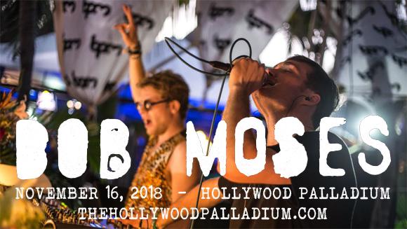 Bob Moses at Hollywood Palladium