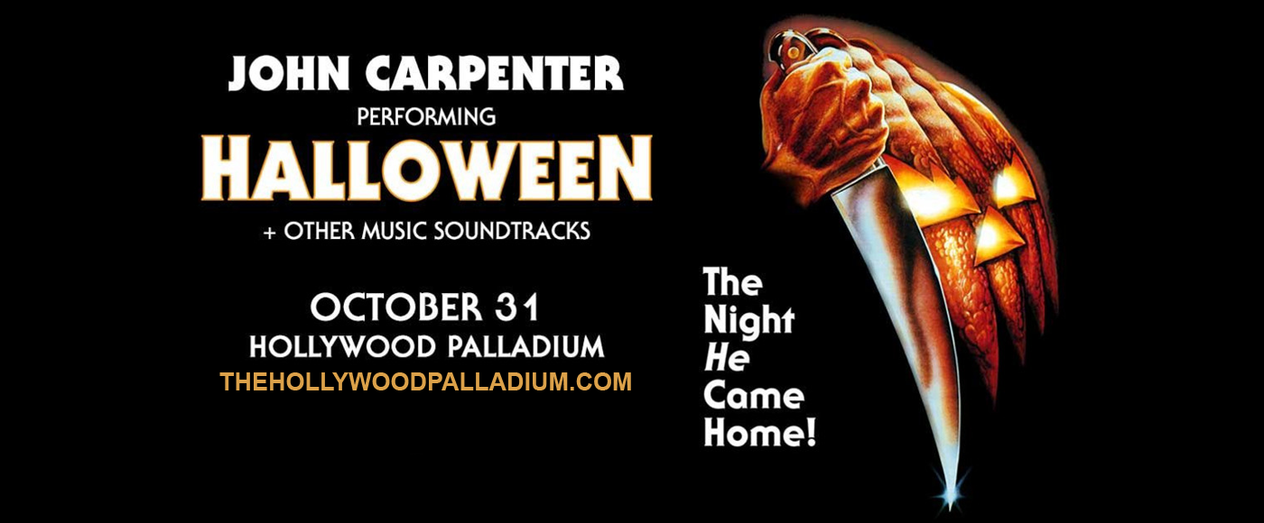 John Carpenter at Hollywood Palladium
