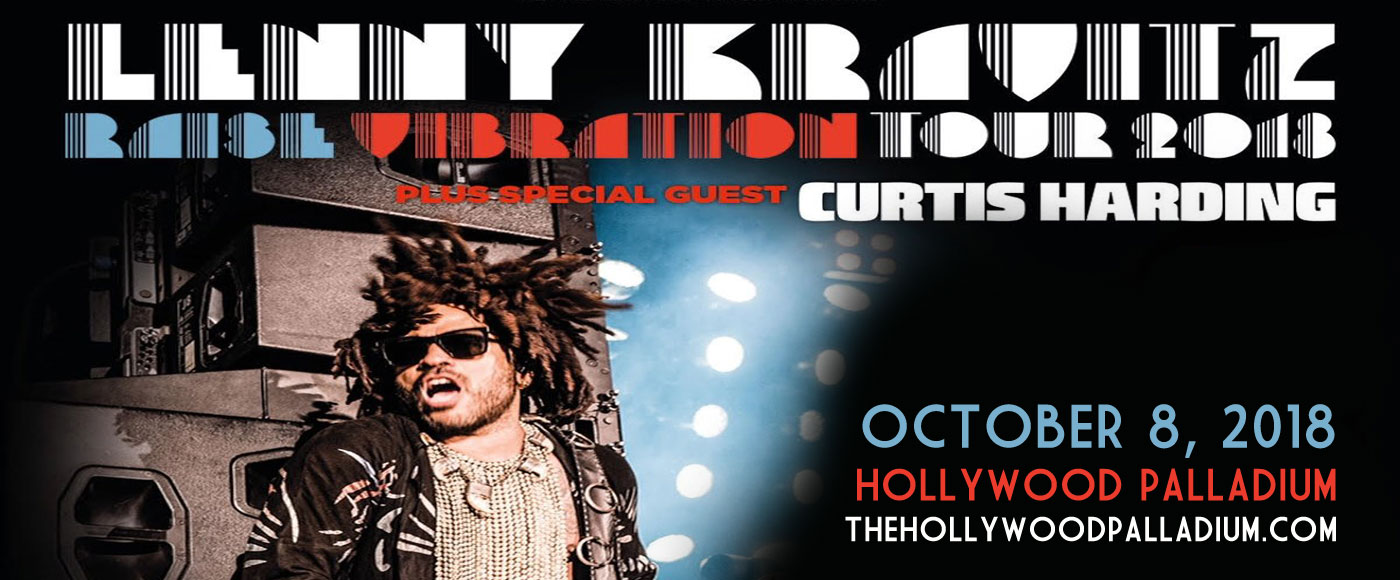 Lenny Kravitz at Hollywood Palladium