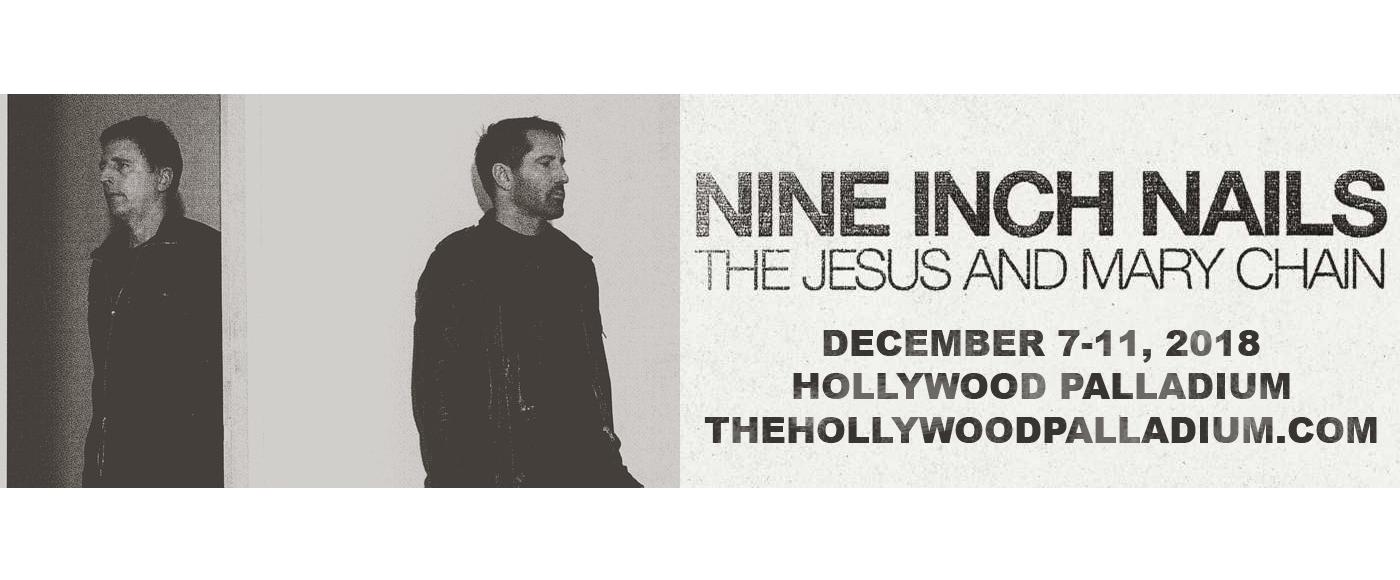 Nine Inch Nails at Hollywood Palladium