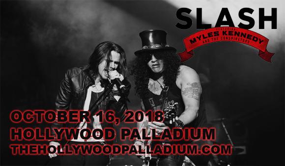 Slash, Myles Kennedy & The Conspirators at Hollywood Palladium