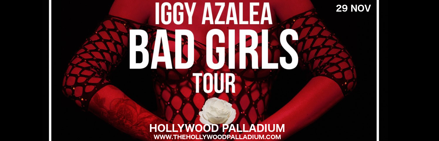 Iggy Azalea at Hollywood Palladium