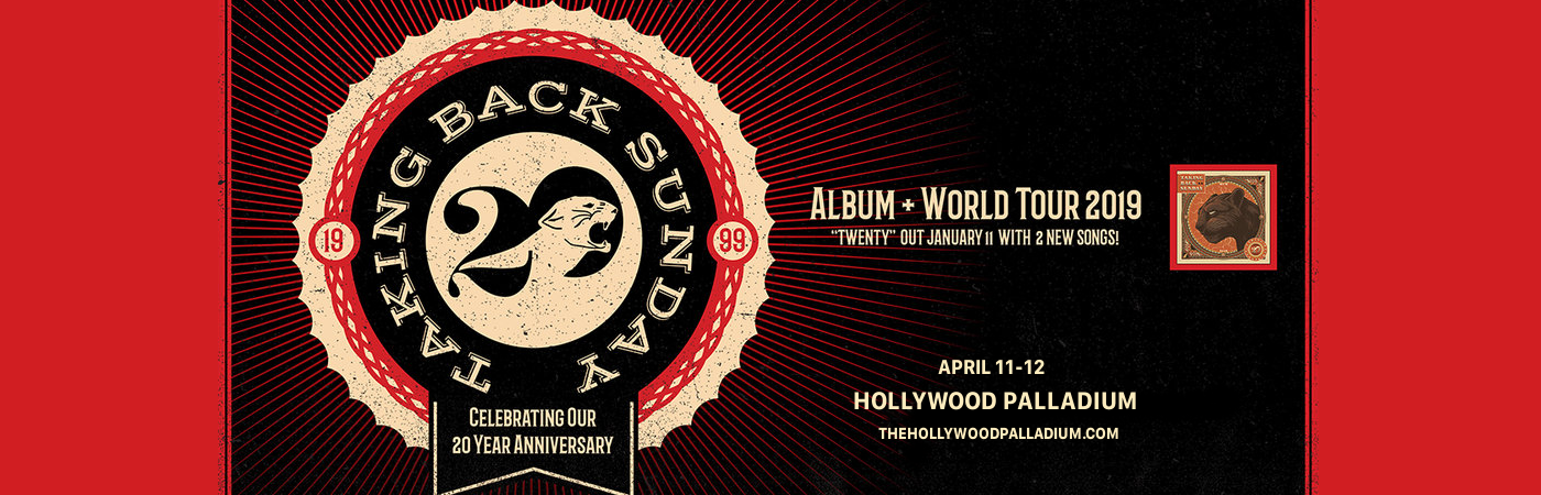 Taking Back Sunday at Hollywood Palladium