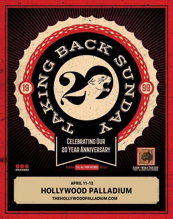 Taking Back Sunday at Hollywood Palladium
