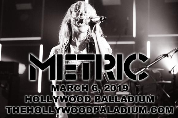 Metric & Zoe at Hollywood Palladium