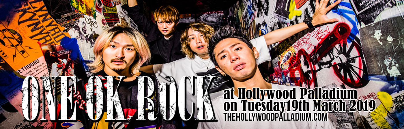 One Ok Rock at Hollywood Palladium