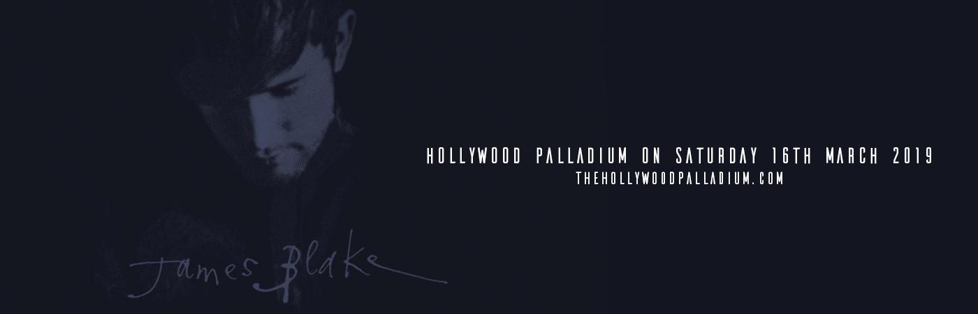 James Blake at Hollywood Palladium