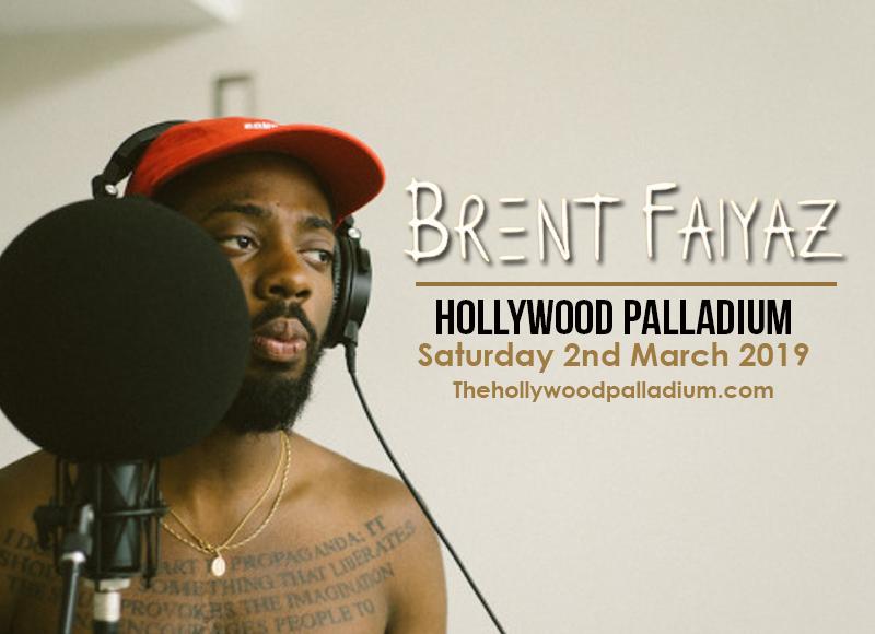 Brent Faiyaz at Hollywood Palladium