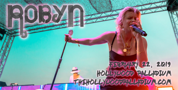 Robyn at Hollywood Palladium