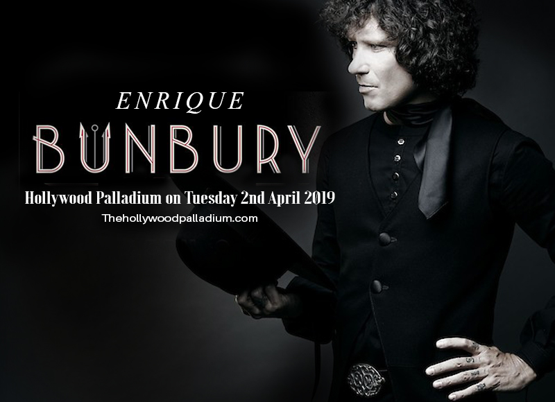 Enrique Bunbury at Hollywood Palladium