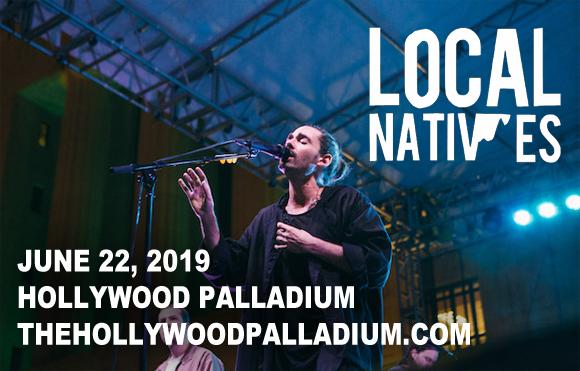 Local Natives at Hollywood Palladium