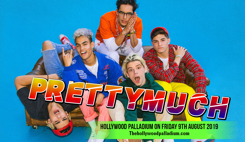Prettymuch at Hollywood Palladium