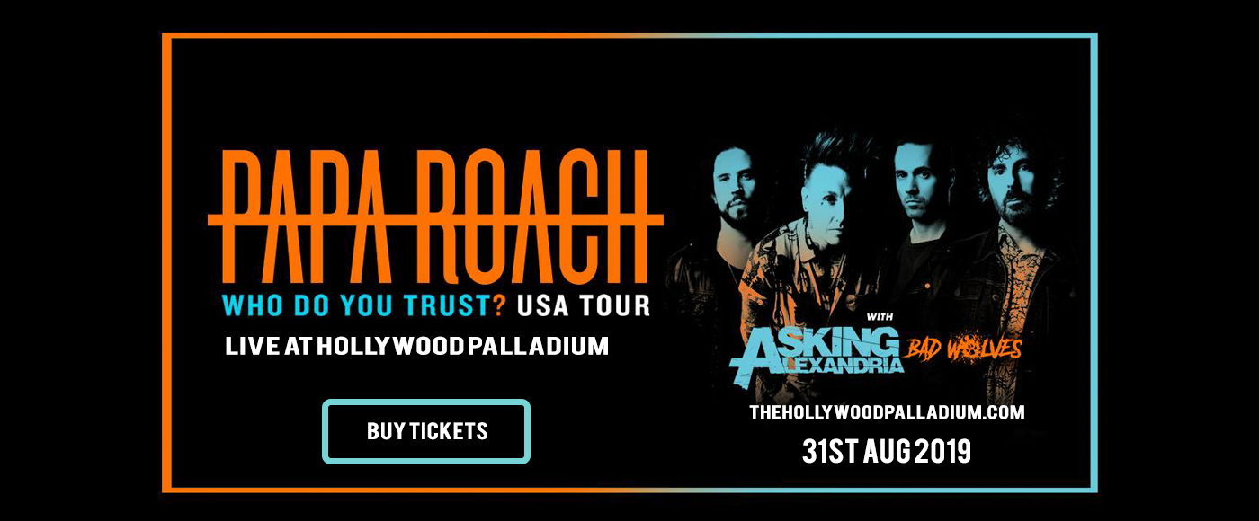Papa Roach at Hollywood Palladium