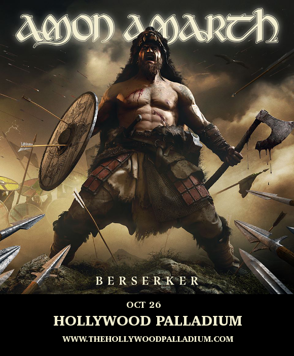 Amon Amarth, Arch Enemy & At The Gates at Hollywood Palladium