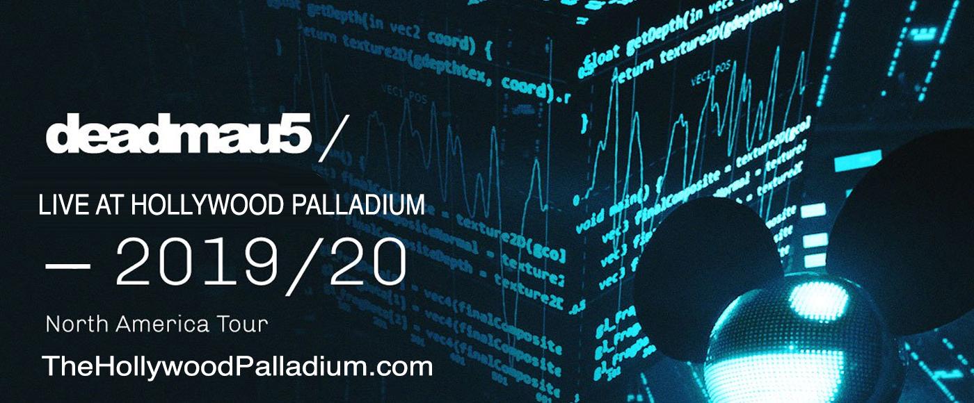 Deadmau5 at Hollywood Palladium