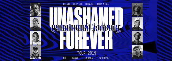 Unashamed Forever Tour at Hollywood Palladium