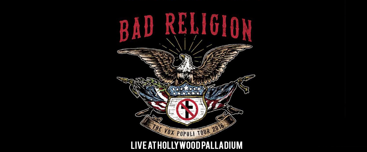 Bad Religion at Hollywood Palladium