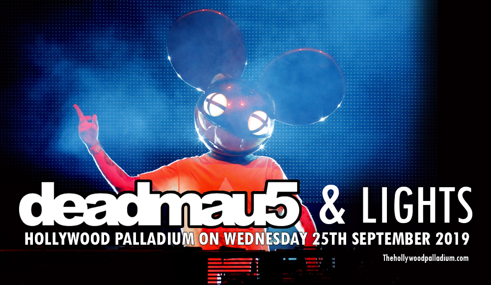 Deadmau5 & Lights at Hollywood Palladium