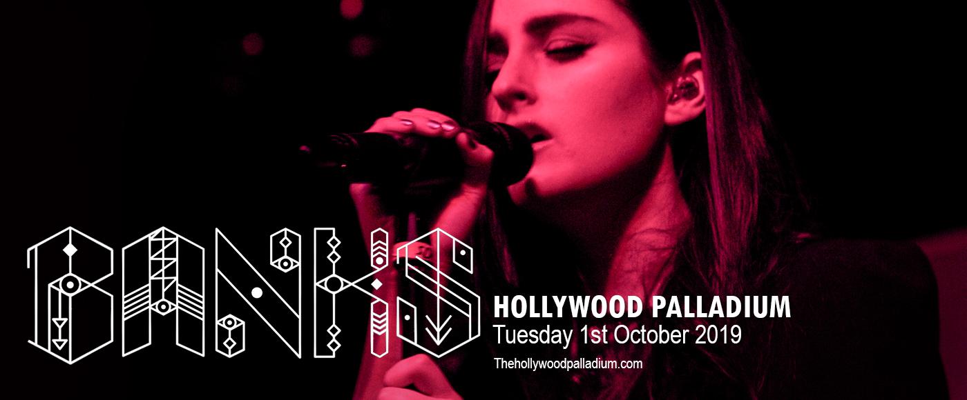 Banks at Hollywood Palladium