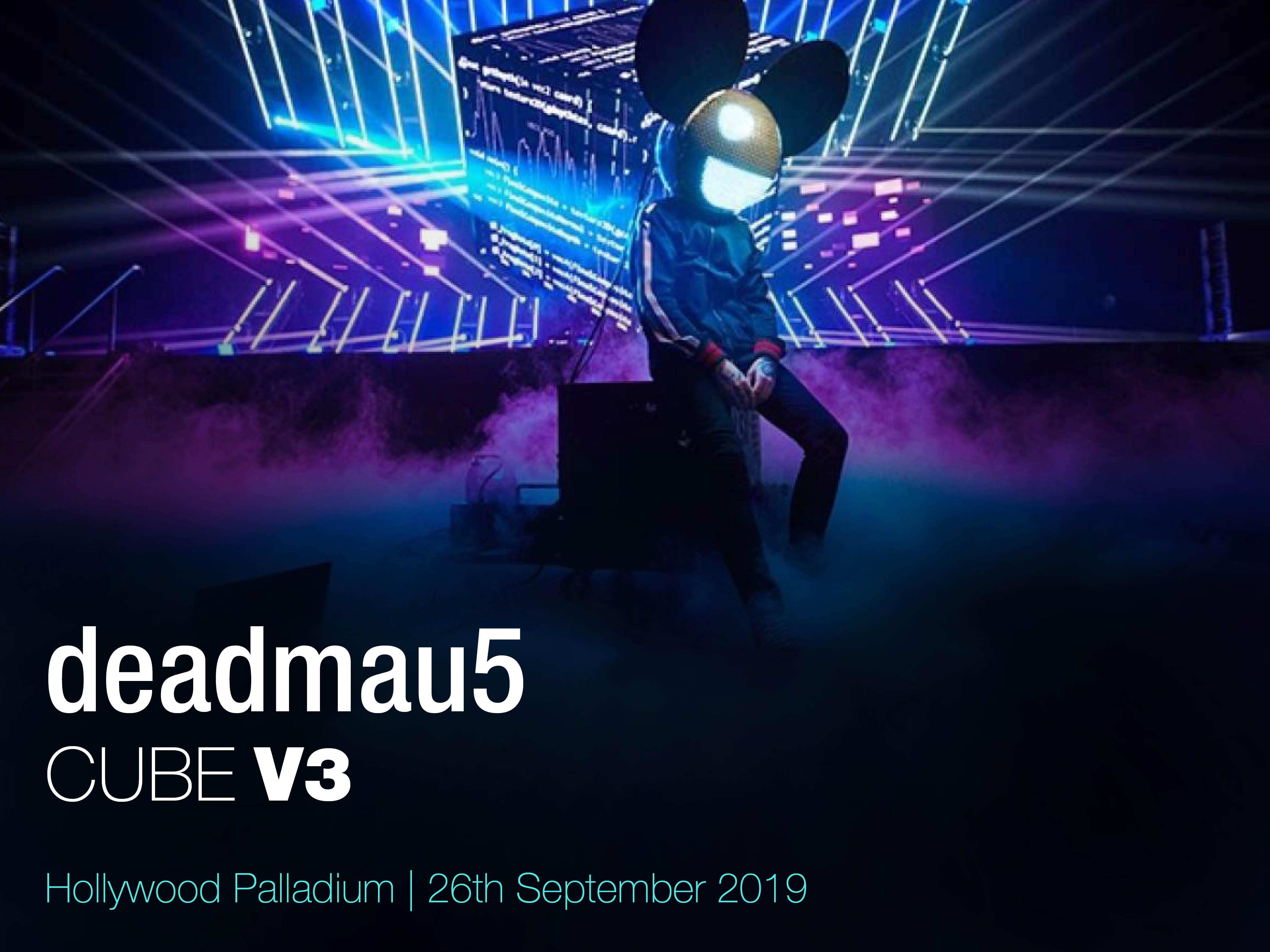 Deadmau5 & Lights at Hollywood Palladium